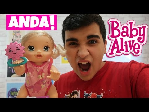 BABY ALIVE ENGATINHA !!!
