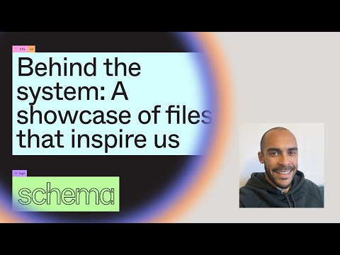 Behind the system: A showcase of files that inspire us - Joel Miller (Schema 2021)