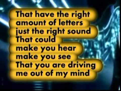 Karaoke -  Cherish -  The Association -  Lyric on screen MMO