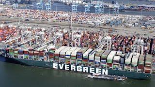 Quatre mois après avoir bloqué le canal de Suez, l'Ever Given arrive enfin à destination