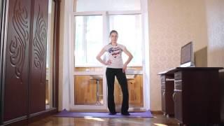 Утренняя зарядка - комплекс упражнений с элементами йоги(, 2016-07-11T00:22:17.000Z)
