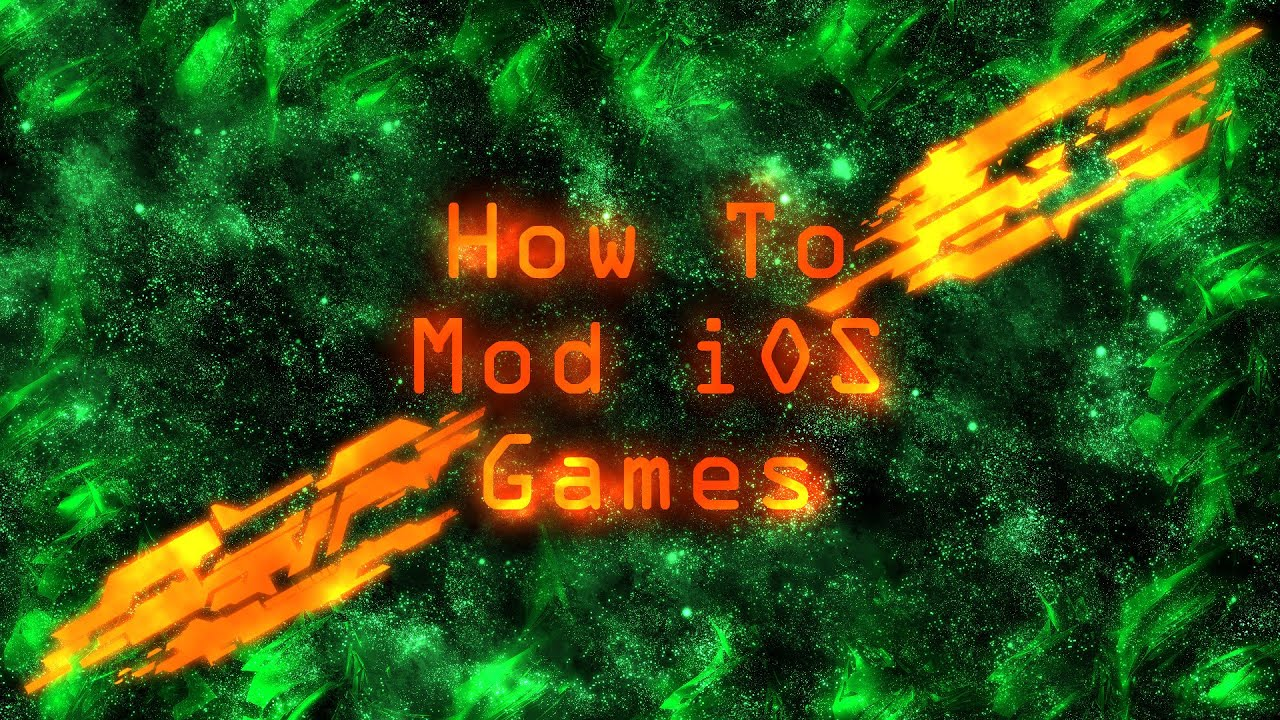 How To Mod iOS Games
