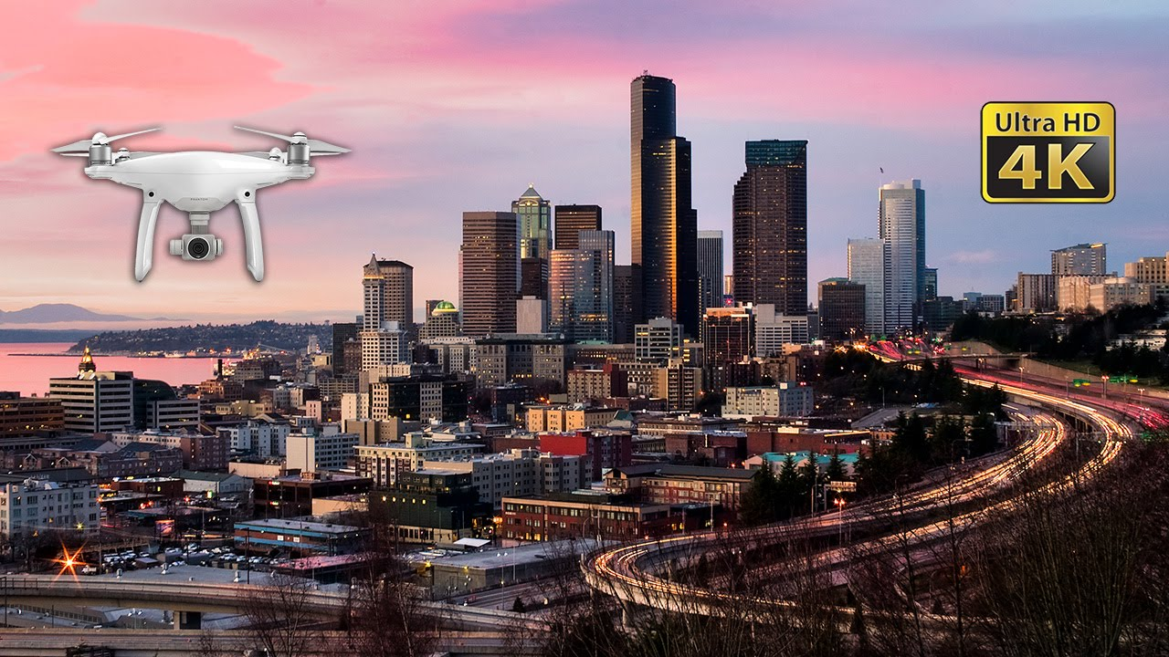 Virtual Hd Wallpapers Amazing Drone Captures Seattle Landmarks From Above In 4k