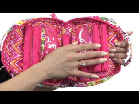 Vera Bradley Luggage Travel Jewelry Organizer SKU:#8341892