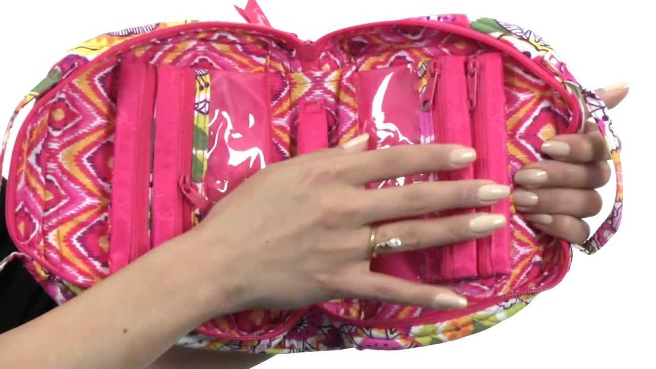 Vera Bradley Luggage Travel Jewelry Organizer SKU8341892 YouTube