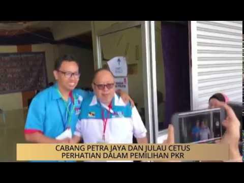 AWANI - Sarawak: Cabang Petra Jaya dan Julau cetus perhatian dalam pemilihan PKR