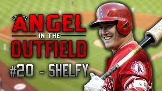 ANGEL IN THE OUTFIELD #20 - SHELFY   MLB The Show 17 Diamond Dynasty