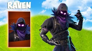 BUYING THE NEW RAVEN SKIN IN FORTNITE!!