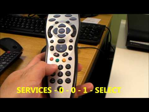 Sky HD Box System Reset & Format of the Hard Disk Drive