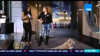 """البيت بيتك - أنوسة كوتة """" أصغر مدربة أسود ونمور فى مصر"""