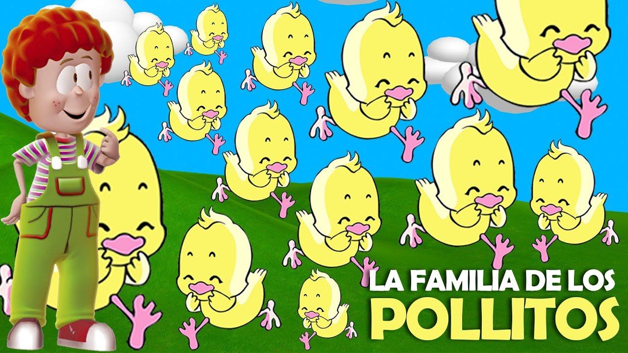 Biper Y Sus Amigos - La Familia De Los Pollitos - YouTube