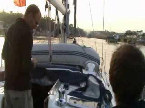 Sailing Jollies 1st ever trip - Corfu to Lavrio Sep-Oct 2010.flv