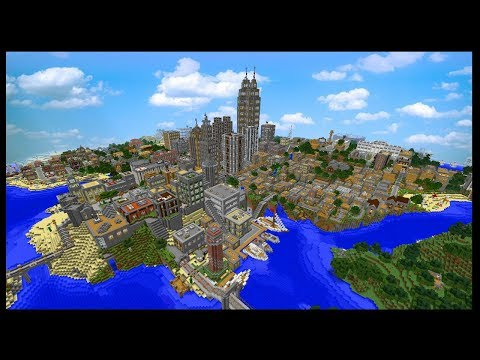 This Is The Most Downloaded Minecraft City Map Ever...