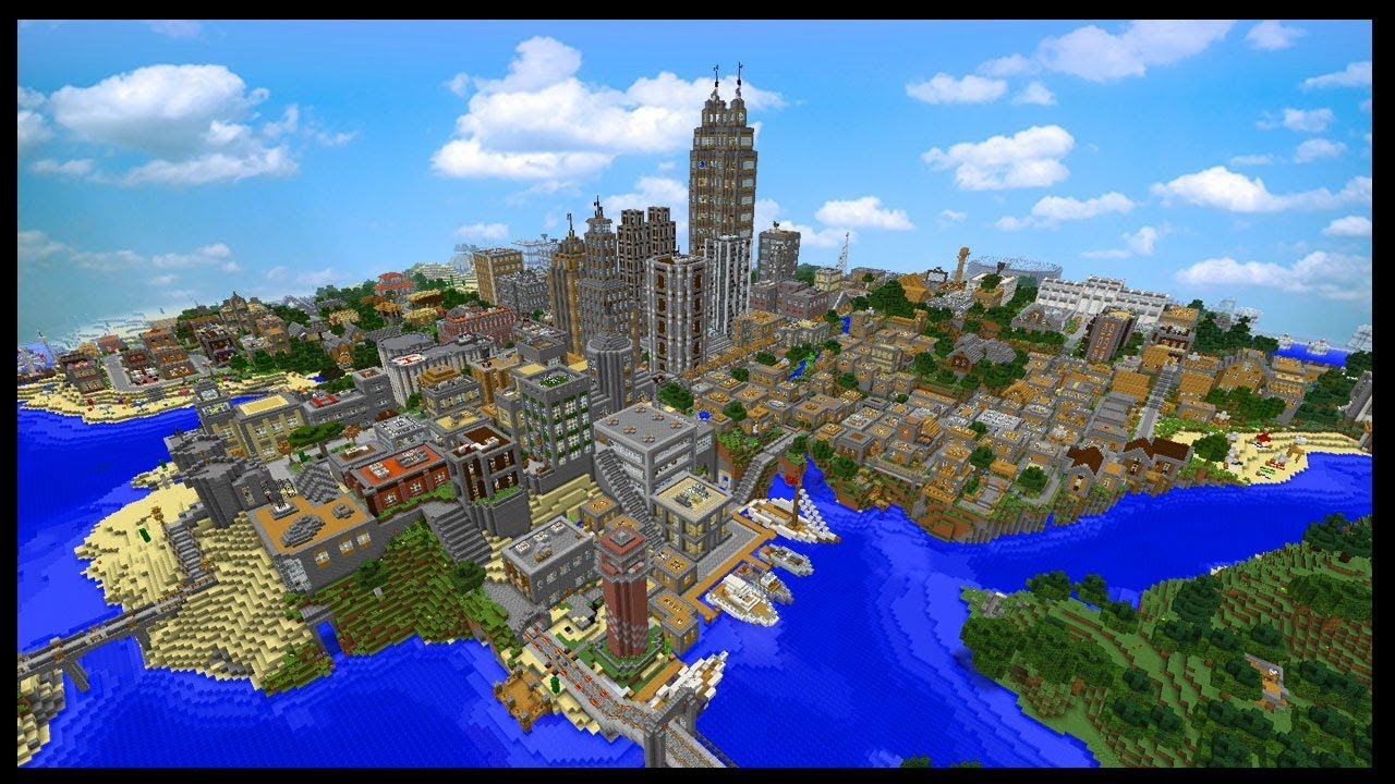 This Is The Most Downloaded Minecraft City Map Ever
