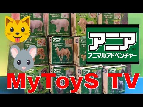 アニア 12種類の動物のおもちゃ -  タカラトミー - のHD編集(00406 z jp)