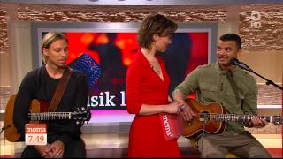 Guy Sebastian - Tonight Again (ARD-Morgenmagazin - Das Erste HD 2015 apr22)