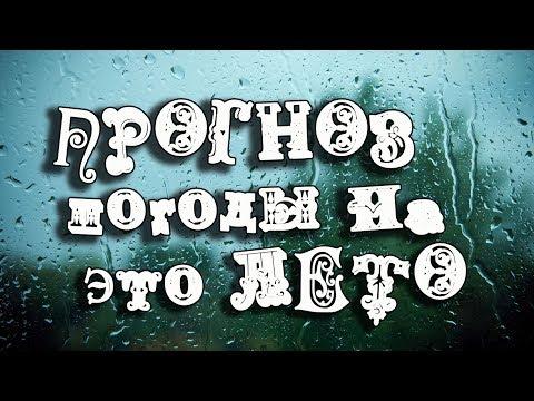Прогноз погоды на это лето. Из Новосибирска с любовью!