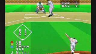 Super Bases Loaded 3 License To Steal SNES Gameplay