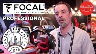 Focal Clear and Focal Listen Professional. CanJam NYC 2018