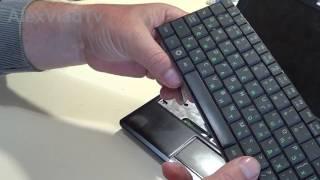 Клавиатура ноутбука, нетбука. Как снять, отсоеденить клавиатуру...