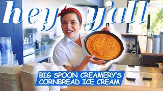 Cornbread Ice Cream Is Our New Summer Dessert Obsession | Big Spoon Creamery | Hey Y'all