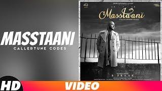 Masstaani | Callertune Codes | B PRAAK | JAANI | Arvindr Khaira | New Song 2018