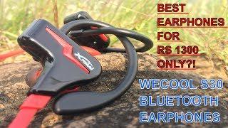Video WECOOL S30 |Best Bluetooth Earphones under 1300₹?! | Unboxing | Honest Review download MP3, 3GP, MP4, WEBM, AVI, FLV Agustus 2018