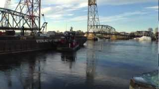 Portsmouth NH Memorial Bridge Video