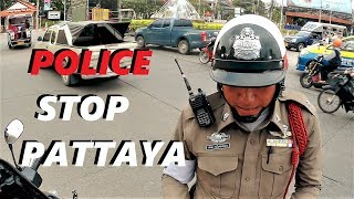 Stopped by the Police in Pattaya and filmed it:  BIKE VLOG PATTAYA 2nd rd TERMINAL 21 + BEACH rd