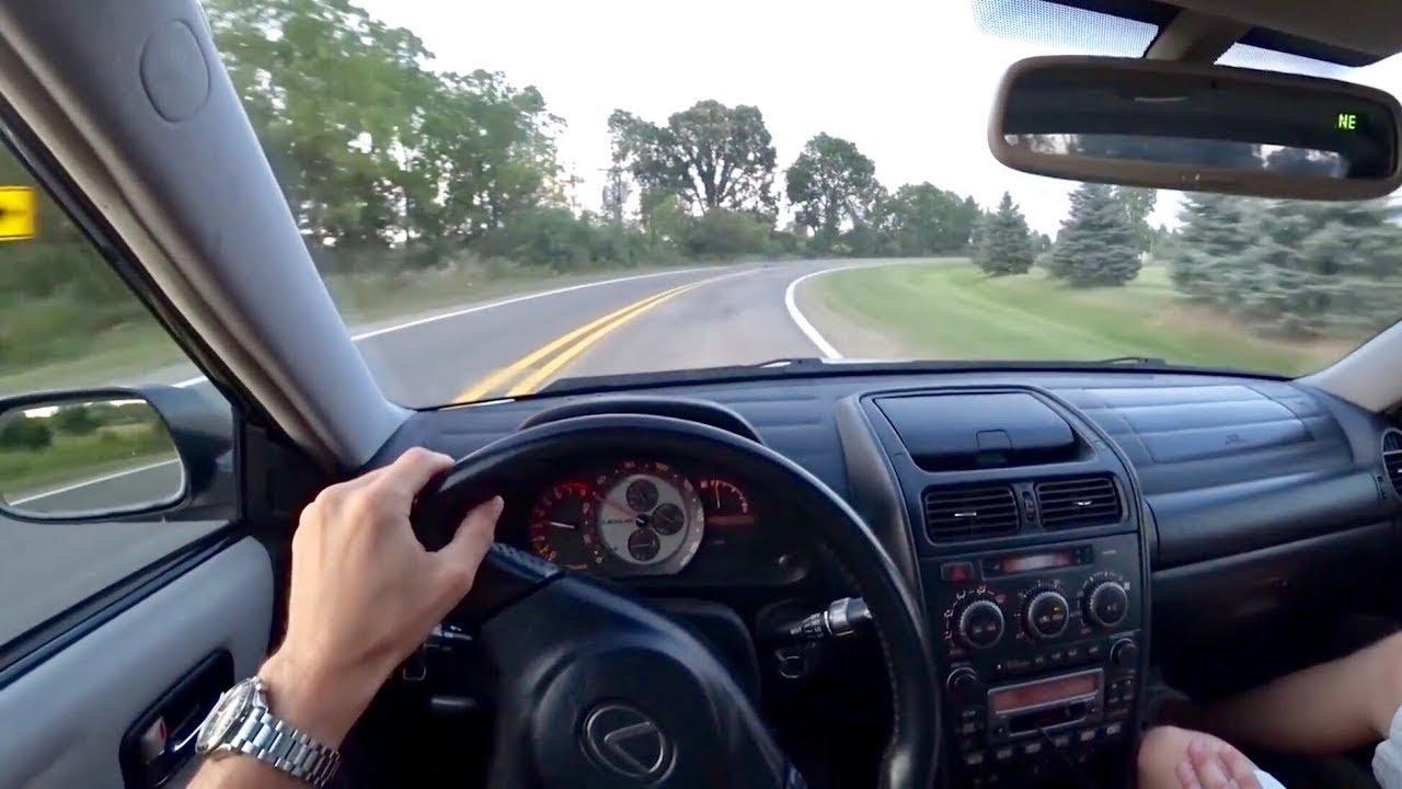 2003 Lexus IS300 (5 Speed Manual)   POV Driving Impressions (Binaural Audio)