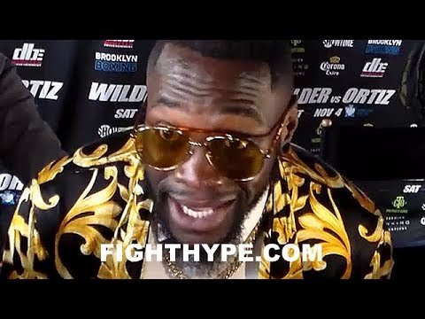 """""""I'M SICK AND TIRED OF IT"""" - DEONTAY WILDER GOES OFF ON NOT GETTING CREDIT"""