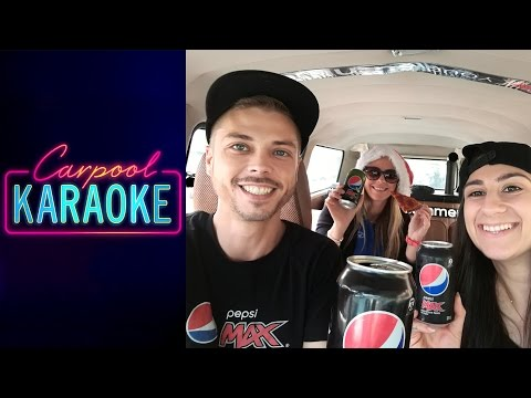 Carpool Karaoke Pepsi style - Rebecca Black & Justin Bieber