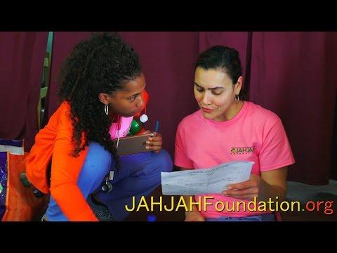 JAHJAH Foundation Thanks Newark Beth Israel Hospital Volunteers
