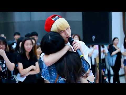 150613 Choi Yena IZONE with her brother Choi Sungmin SPEED