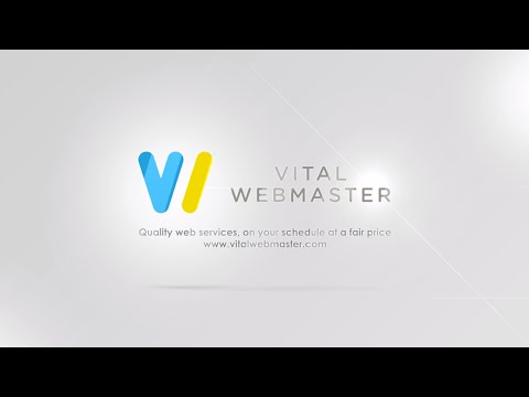 Vital Webmaster, LLC Company Intro Video Presentation