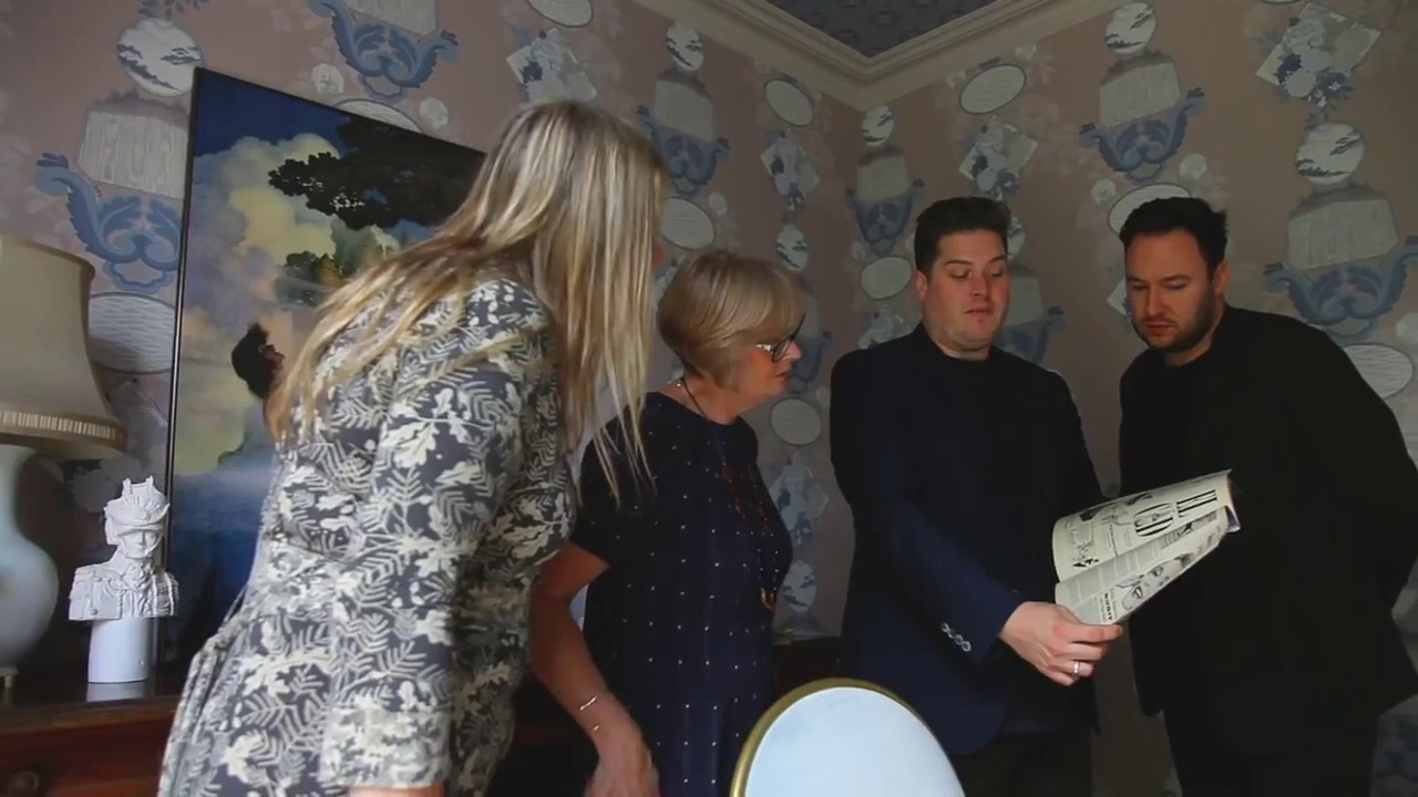 The Interiors Channel Showcase Brintons and 2 LOVELY GAYS – Luxury Furniture