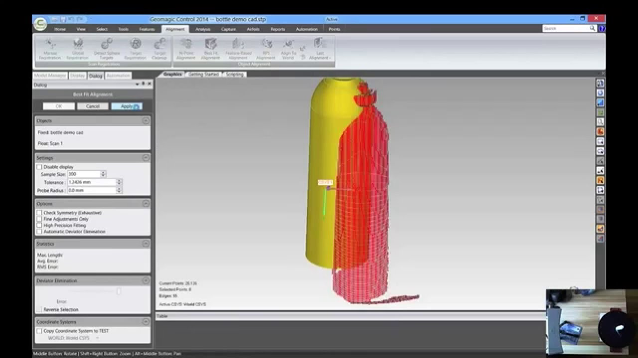 Geomagic Capture and Control: 3D Scanning to Quality Inspection