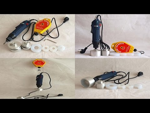 Portable Electric Hand Held Bottle Capping Machine Bott
