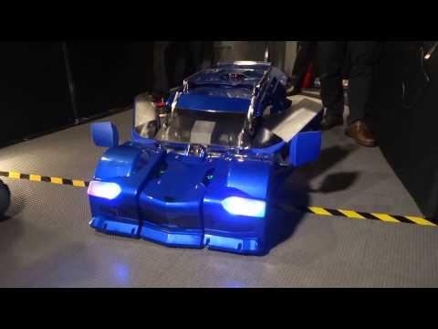 BRAVE ROBOTICS 'J-DEITE QUARTER' 人型から車、車から人型への変形