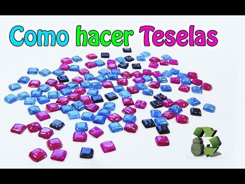 Como hacer Teselas de cd (Reciclaje) Ecobrisa DIY