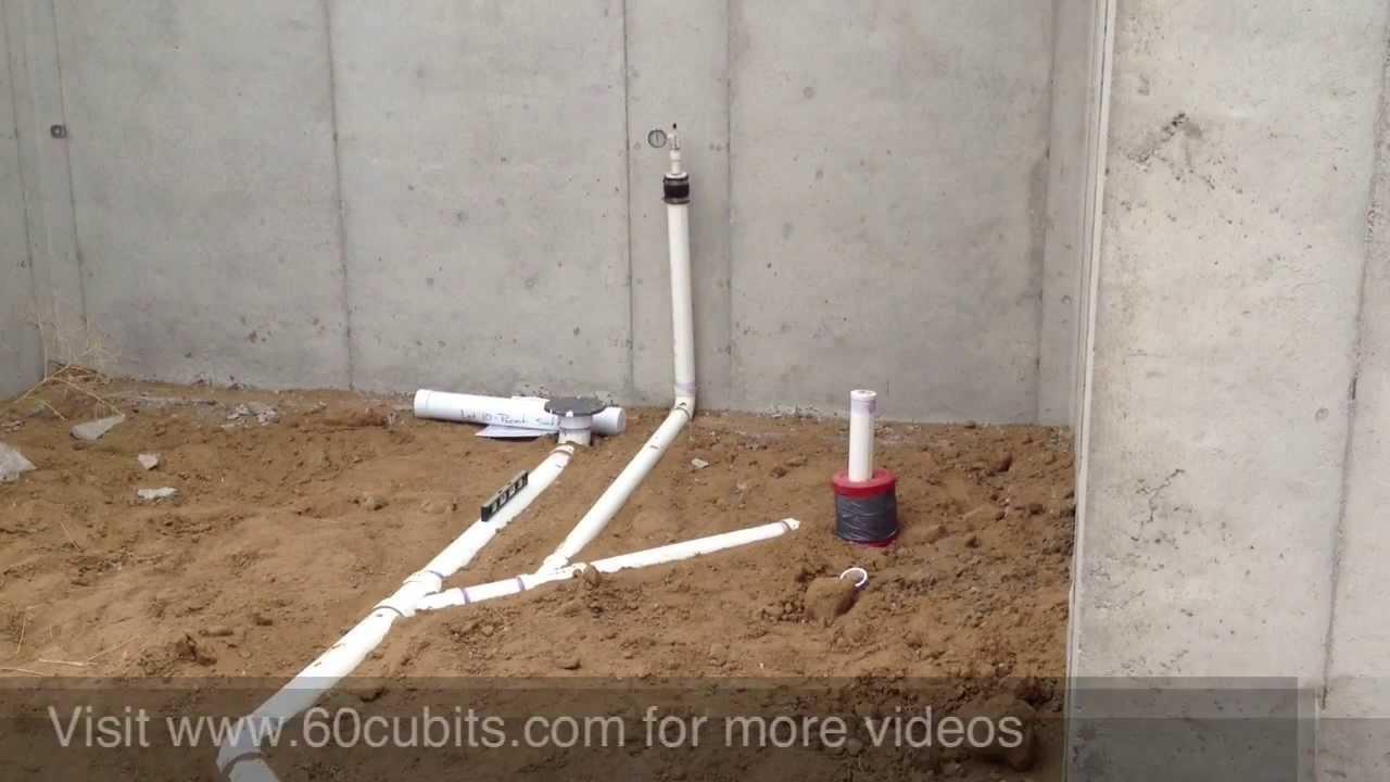 #09 Underground Plumbing