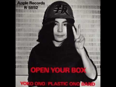 Open Your Box - Yoko Ono / Plastic Ono Band (censored Single Version)