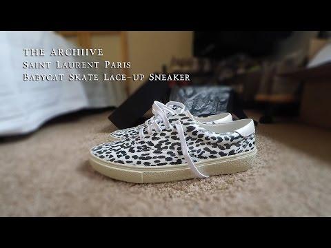 Saint Laurent Babycat Sneaker Review - The Archiive
