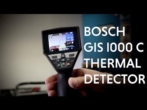 Видео обзор: Детектор BOSCH GIS 1000 C Термо