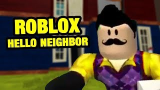 Hello Fear Act 3 | Roblox Hello Neighbor