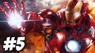 Iron Man 2 Walkthrough | Mission 3: The Crimson Dynamo | Part 5 (Xbox360/PS3)