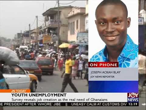 Youth Unemployment - Joy News Today (6-9-16)