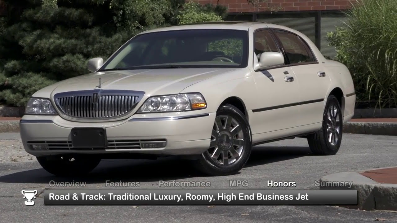 2011 Lincoln Town Car Used Car Report Youtube