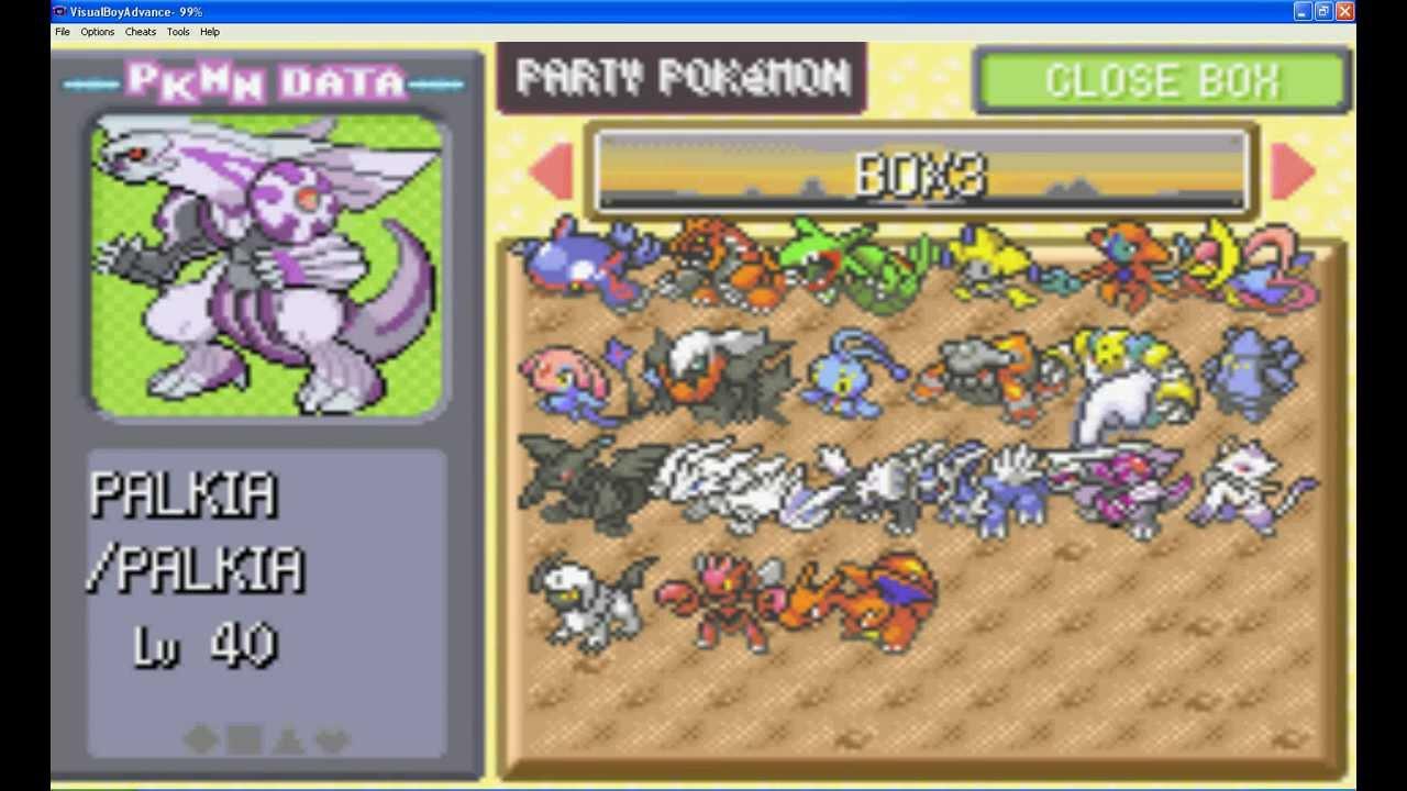 Pokemon light platinum legendary rare pokemons youtube - Pokemon platine legendaire ...