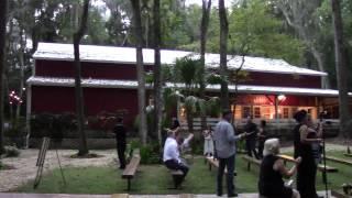 Brooksville Barn wedding, Tampa area barn wedding reception, country wedding reception